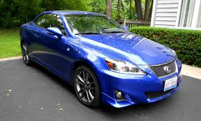 white lexus is 250 2014 road test review 2014 lexus is250c f sport is top down