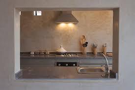 enduit decoratif cuisine cuisine en tadelakt couleur et patine tadelakt