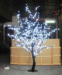 outdoor lighted cherry blossom tree 1 5meter 5ft led cherry blossom tree outdoor indoor christmas