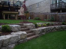 Retaining Wall Design Ideas by Offers The Experience Of Square Design Ideas Retaining Backyard