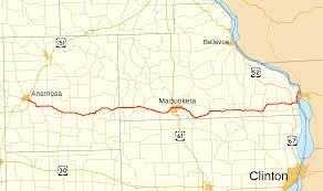 Iowa Illinois Map Iowa Highway 64 Wikipedia