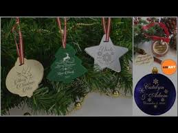 clear glass ornaments engraved ornaments