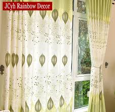 Childrens Bedroom Window Treatments Curtains For Picture More Detailed Picture About Green Leaves