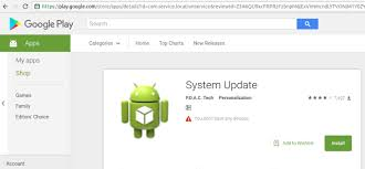 android system update you installed system update spyware on your android device
