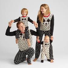 mickey family pajamas collection matching family