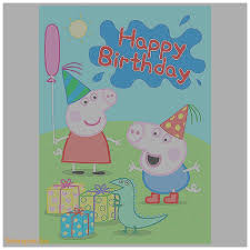birthday cards inspirational peppa pig birthday cards print