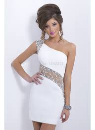 aliexpress com buy fast delivery heavy beaded white one shoulder