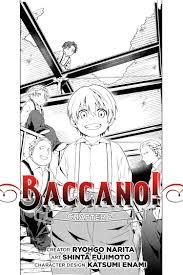 baccano baccano chapter 2 manga hachette book group