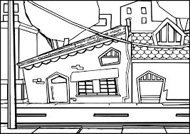street coloring pages wecoloringpage