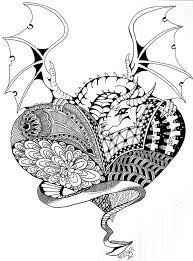 262 dragon images zentangle dragon dragon art