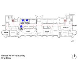 lecture hall floor plan uchicago maps harper memorial library accessible entrances and