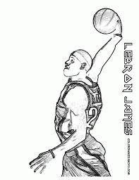 lebron james coloring pages fablesfromthefriends com