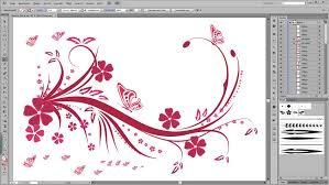 illustrator tutorial floral swirl ornaments butterfly youtube