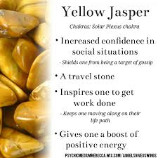 solar plexus crystals yellow jasper crystal meaning healing energy pinterest