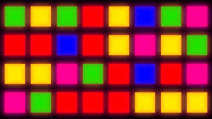 colorful lights background computer generated stock footage video