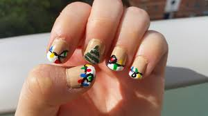 Christmas Light Nails by Nerd With Nails Christmas Tree