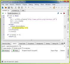 tutorial python regex tutorial searching wing python ide
