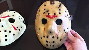 Jason Voorhees Mask Friday The 13th Jason Voorhees Hockey Mask Diy Youtube