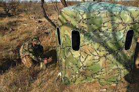 Pop Up Hunting Blinds Going Blind Tools U0026 Skills For Hiding From Game Animals