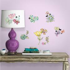 twenty new wall stickers under 20 roommates blog floral wall decals and stickers
