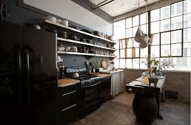 black appliances kitchen design realizing a black kitchen design