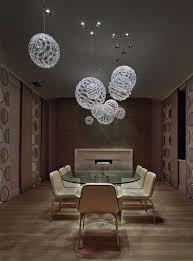 Contemporary Chandeliers For Dining Room Decorations Cool Ball Glass Contemporary Chandelier Design With