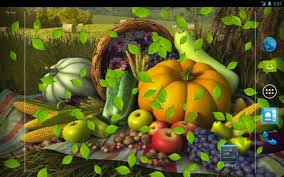 3d thanksgiving live wallpaper for android 3d
