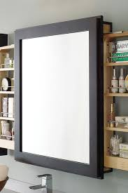 Bathroom Mirror With Shelf by Bath Mirror With Wall Pull Out Decora Cabinetry