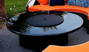 Firepit Lid Pit Table Metal Cover 22 Black 100