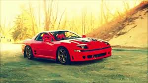 dodge stealth red stanced 3000gt youtube