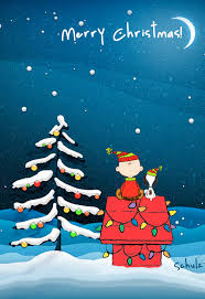 christmas surprise wallpapers free merry christmas eve snoopy computer desktop hd wallpapers