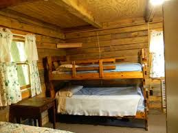 Cabin Bunk Bed Log Cabin Bunk Beds Picture Of Doubleday Cground