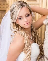 half up wedding hair with veil women wedding hairstyles with veil