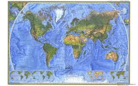 Map With Labels World Physical Collins World Travel Maps Read Fiction Non