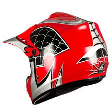 childrens motocross helmets wow youth kids motocross bmx mx atv dirt bike helmet spider red