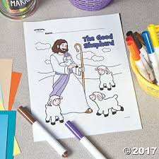 good shepherd free printable coloring page