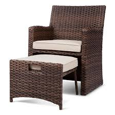 Target Threshold Patio Furniture Halsted 5 Piece Wicker Small Space Patio Furniture Set Threshold