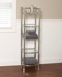 Bathroom Vanity With Linen Tower Bathroom Linen Tower Simple Home Design Ideas Academiaeb Com