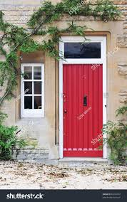 front door old english cottage house stock photo 84314104