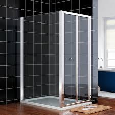 700mm bifold shower door