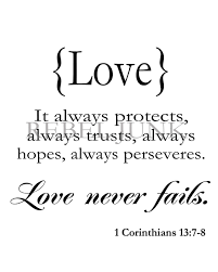 wedding quotes is patient quotes images corinthians never fails quote in