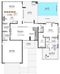 deck floor plan rooftop observation deck 44090td architectural designs house plans