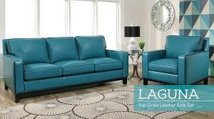 living room sets laguna leather sofa set