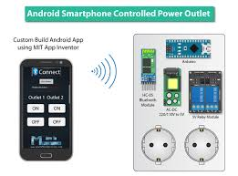 smartphone controlled outlet android smartphone controlled power outlet arduino projects ideas