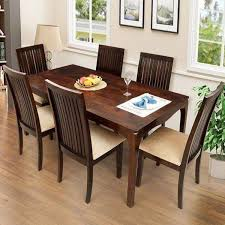 Dining Table And Six Chairs Elmond Dining Table With Six Chairs Modern Furniture Table à