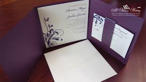 25th Wedding Anniversary Invitation Cards For Parents Purple Wedding Invitation U2013 A Vibrant Wedding