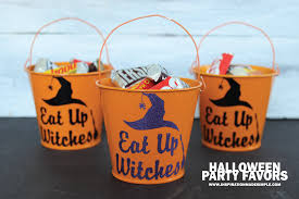 Halloween Party Favors Eat Up Witches Halloween Party Favor Inspiration Made Simple