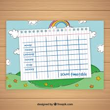 timetable template download office timetable template in word