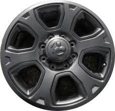 dodge ram with black rims aly2477u45 pb02 dodge ram 2500 3500 wheel black painted 1vq85trmaa