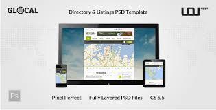 24 best directory psd design templates 2017